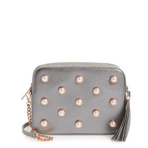 NWT Ted Baker London Alessia Leather Crossbody